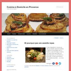 Cuisine à domicile en Provence
