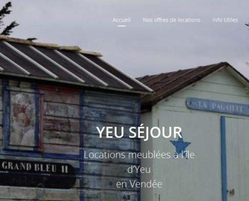 Location Yeu Séjour